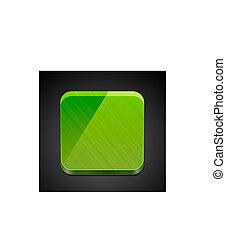 Mobile app empty icon   button design