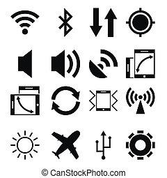 mobile, app, icone