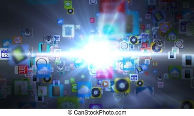 Mobile App of many mobile applicati