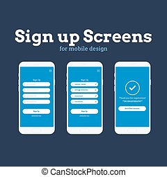 Mobile App Wireframe Ui Kit. Detailed wireframe for quick...