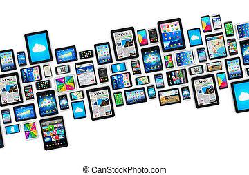 mobile, appareils
