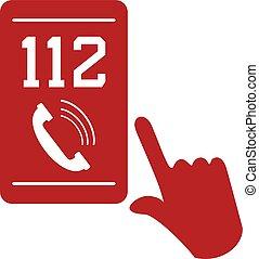 mobile, appeler, urgence, 112