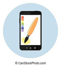 Mobile Art Brush