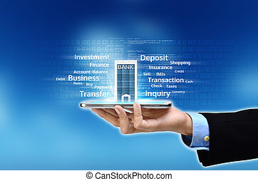 Mobile Banking Concept