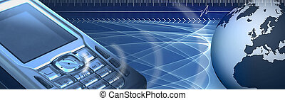 Mobile banner - Header regarding technology and...