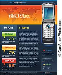 Mobile Cell Smart Phone Brochure