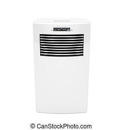 mobile, climatiseur, moderne, air