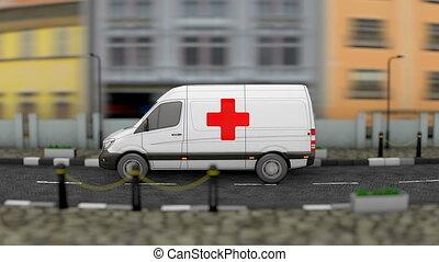 mobile, clinique, santé