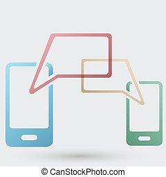 mobile communication icon