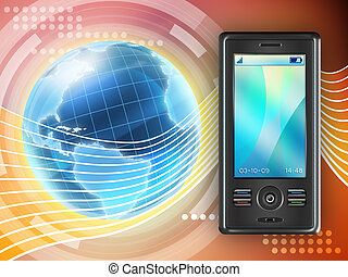 Mobile communication - Mobile phone as a global...