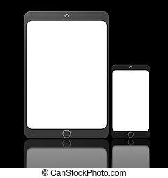 mobile, concept, appareils