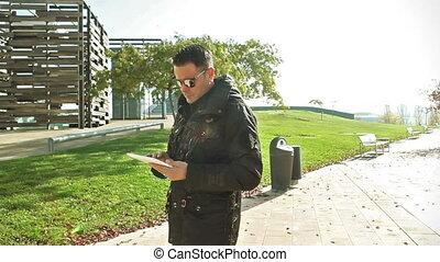 Mobile devices lifestyle.Internet concept