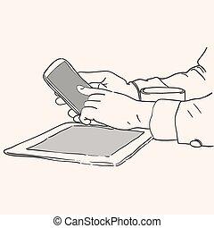 Mobile Display Gadgets