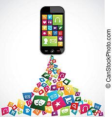 mobile, domande, computer