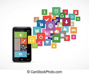 mobile, domande, piattaforme