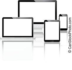 mobile, ensemble, appareils