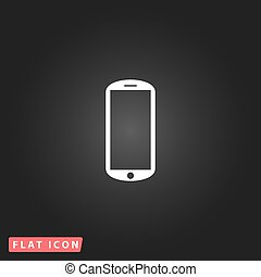 mobile flat icon