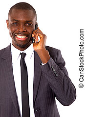 mobile, homme affaires