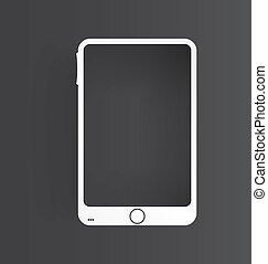 mobile icon and glossy