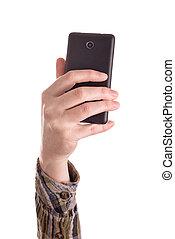 mobile, images, intelligent, confection, téléphone