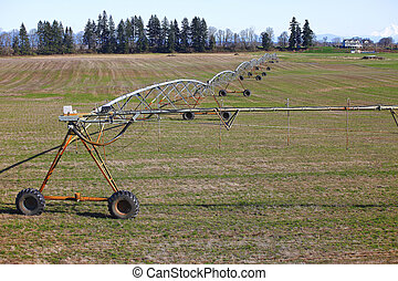 Mobile irrigation systems.