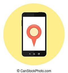 Mobile Location Marker