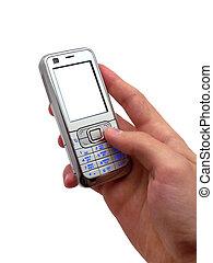 mobile, mano