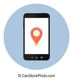 Mobile Map Location