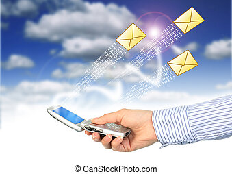 mobile, message., sms.