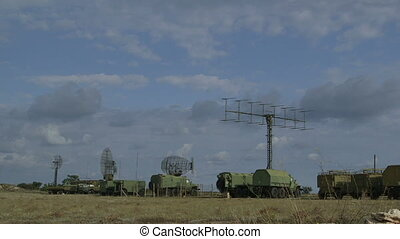 Mobile military air defense system