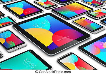 mobile, moderno, congegni