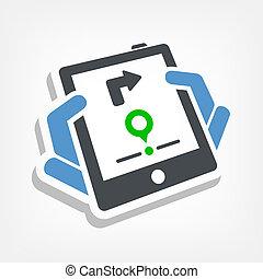 mobile, navigation, système