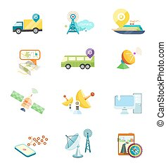 mobile, navigation, voyage, gps, tourisme
