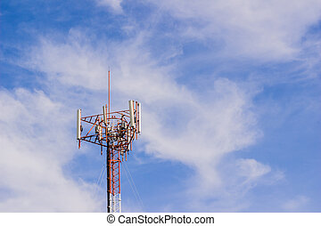 Mobile or cell phone tower