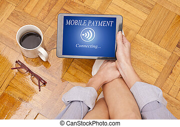 mobile payment in the tablet