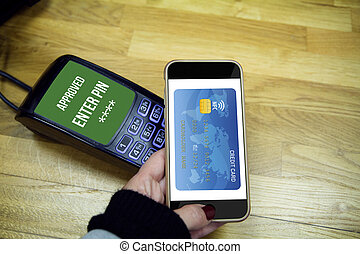 mobile payment system. NFC
