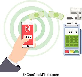 Mobile payments and near field communication.