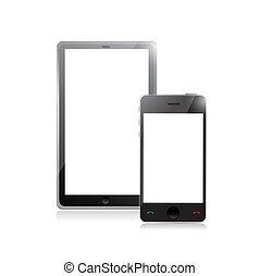 mobile, pc, smartphone, tablette, numérique