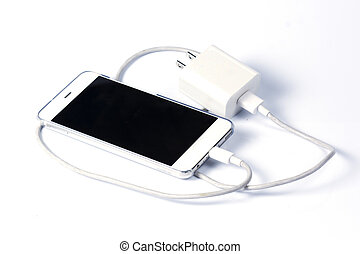 Mobile phone and charger cable