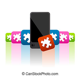 Mobile phone apps and widgets