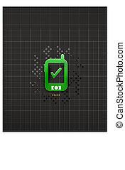 Mobile phone black technology design