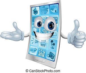 Mobile phone character