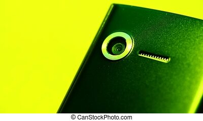 Mobile phone close up