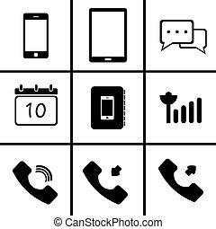 Mobile phone (Icon  set)
