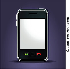 mobile phone lighted up