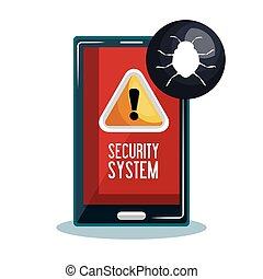 mobile phone security system
