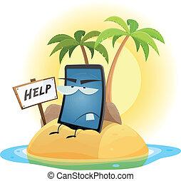 Mobile Phone Technology Shipwreck