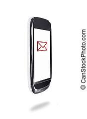 Mobile phone text symbol