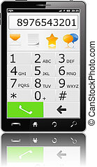 Mobile Phone with Keyboard