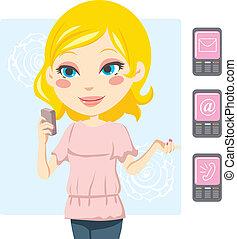 Mobile Phone Woman